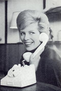 Ciska Peters in 1965