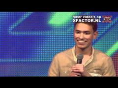 X FACTOR 2011 - aflevering 2 - auditie Rolf