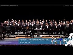 Musical interlude, Royal Choir Society Mastreechter Staar