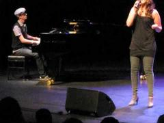 Roza Lozica & Kevin: How come you don't call me & His eyes on the sparrow (at Talent Night 2009)